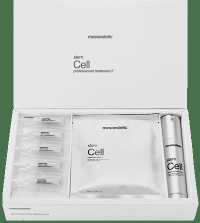 gelaat- en huidverzorging behandeling met Stem Cell