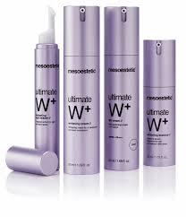 verrijkende gelaat- en huidverzorging door ultimate whitening W+