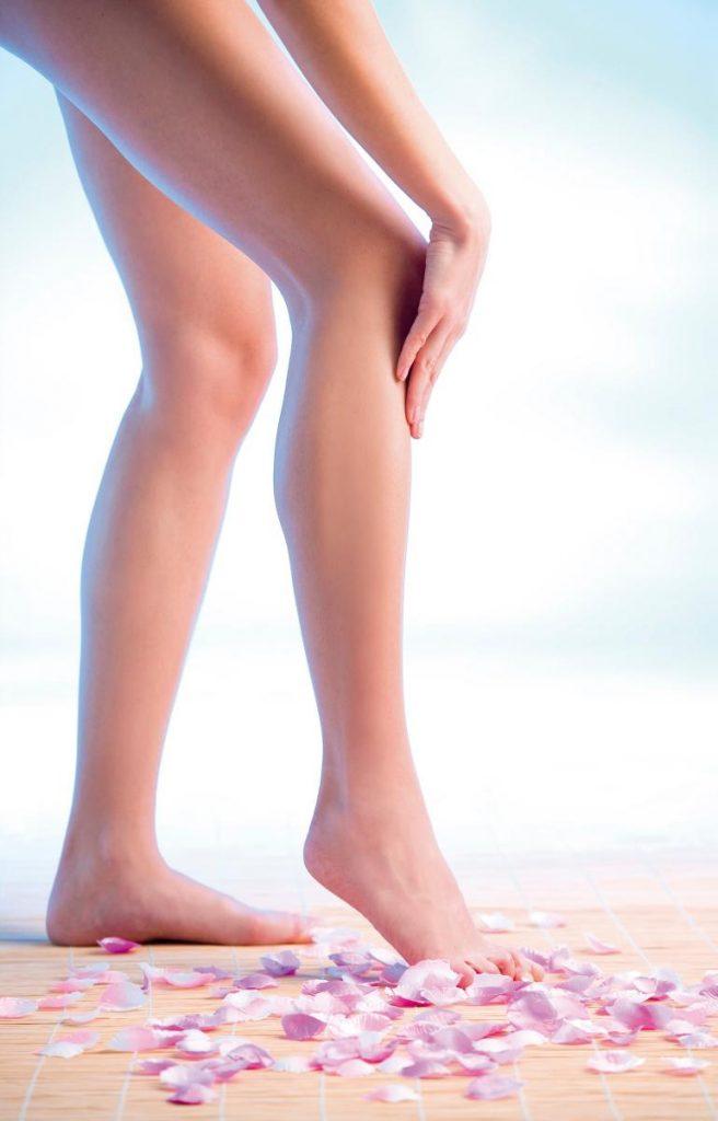 Schoonheidstips voor vrouwen voor de benen